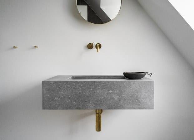 Elegancia en el baño