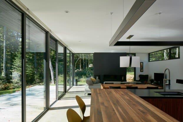 Amplios espacios con luz natural