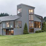 Residencia en Massachusetts con diseño de espiral de Fibonacci