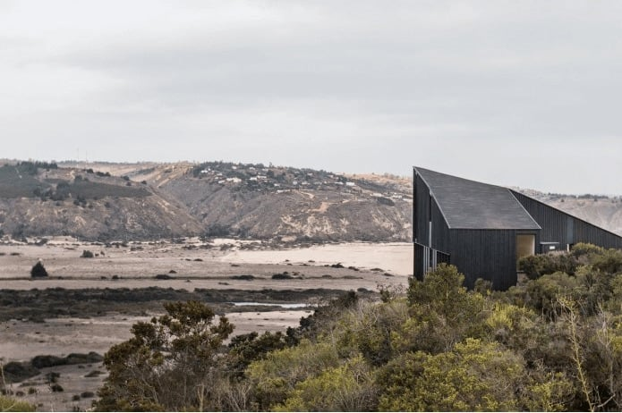 Un paisaje desierto